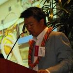 Lt. Gov. Shan Tsutsui speaks at PAN