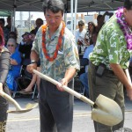 Lt. Gov. at Kona groundbreaking