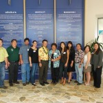 Lt. Gov. Shan Tsutsui & the Hawaii Island Contractors' Association