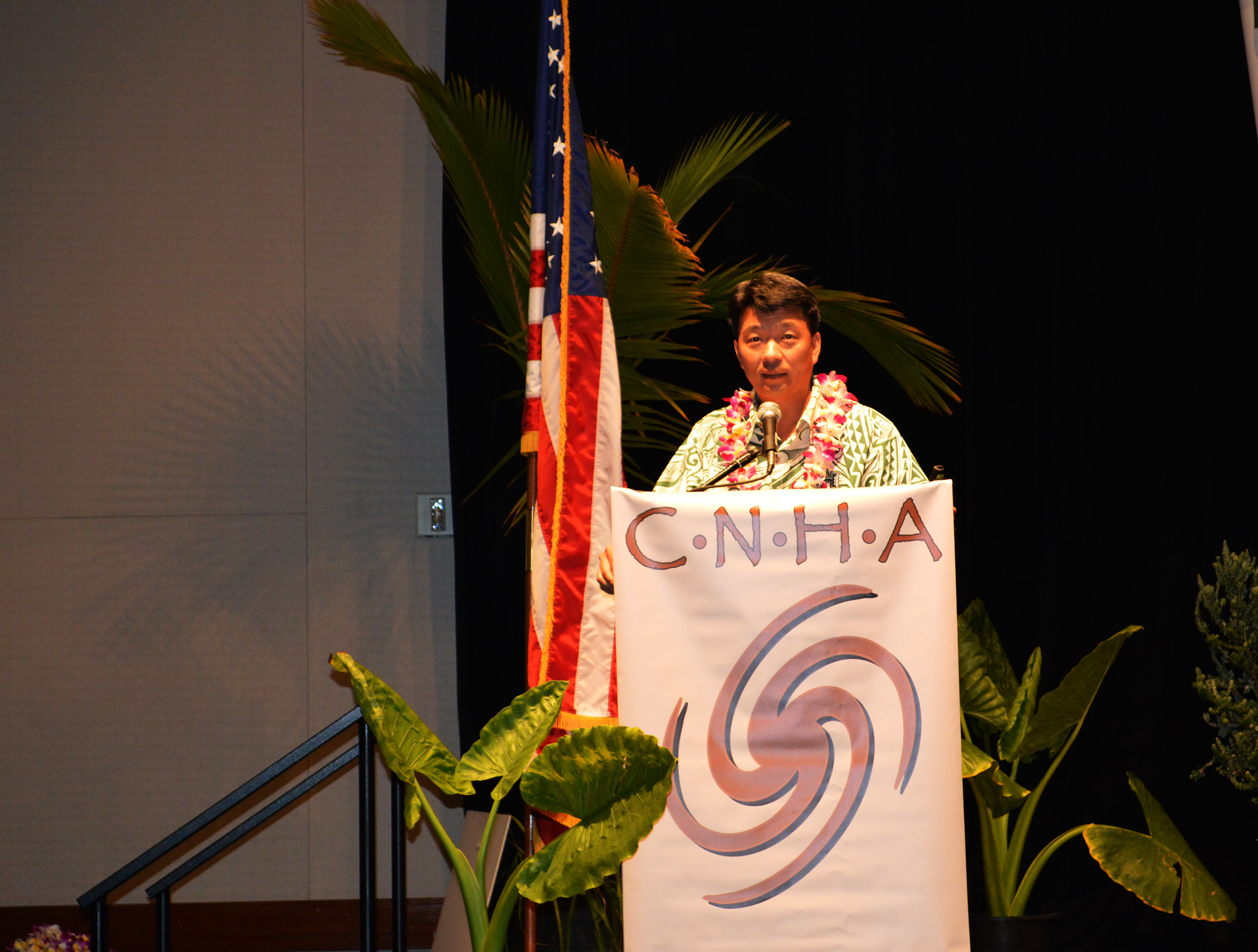 Lt. Governor speaking