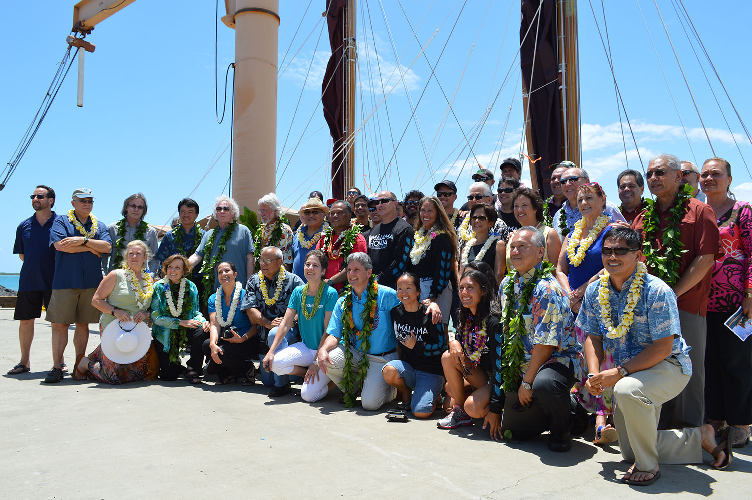 Hokulea Group Photo