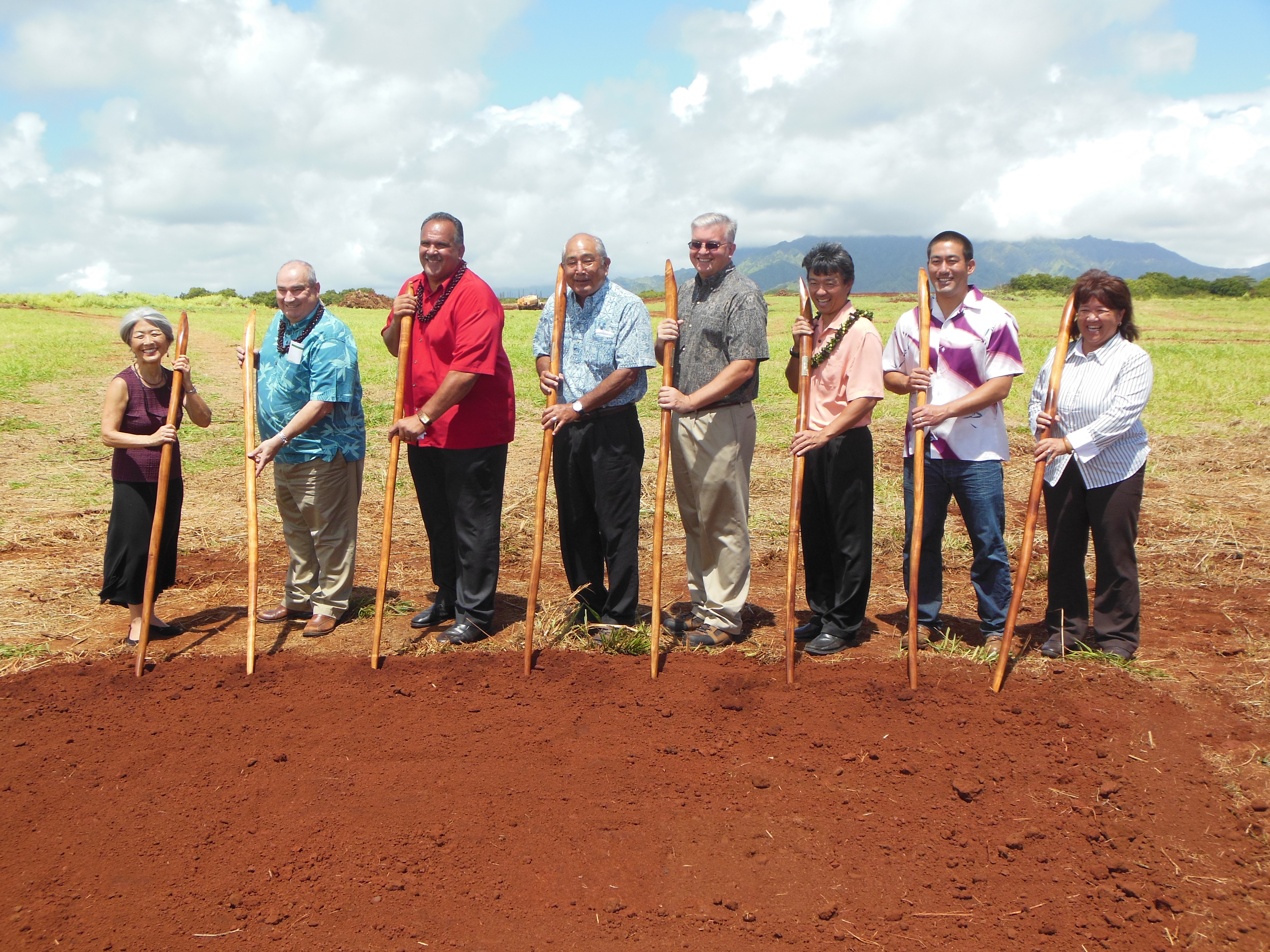 KIUC Anahola Solar Facility Groundbreaking
