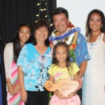 Lt. Governor Tsutsui and family