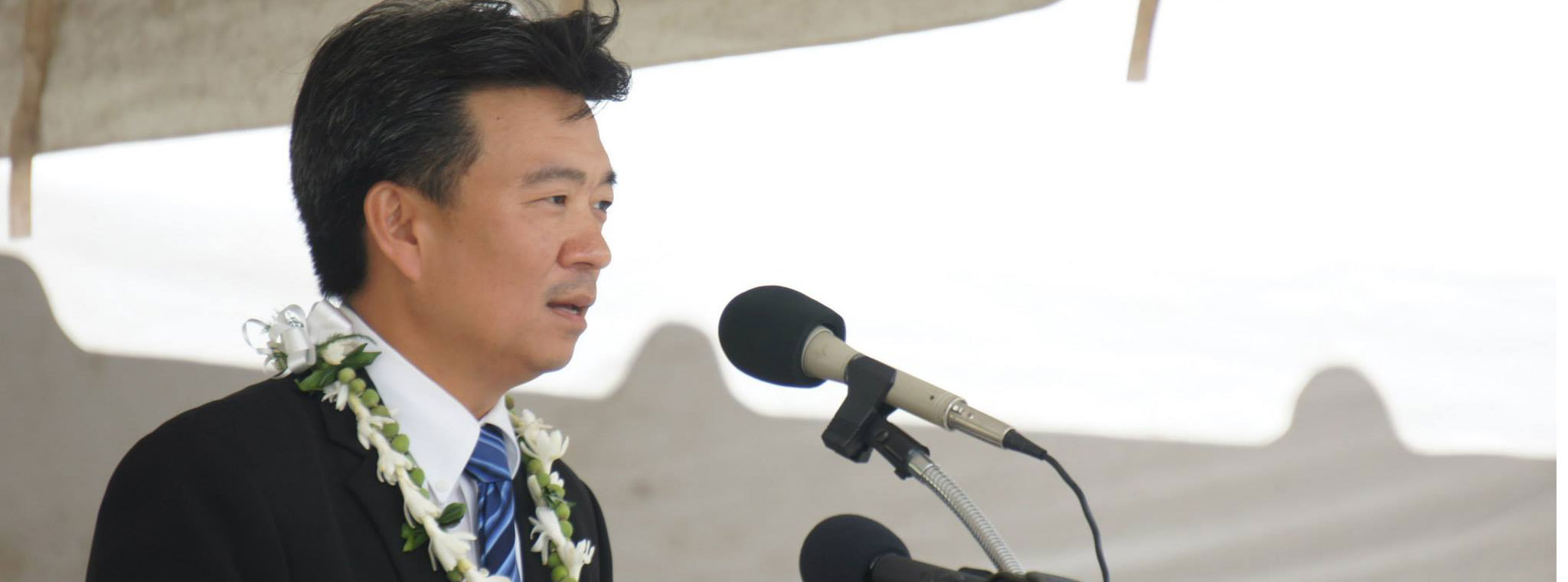 Acting Govenor Tsutsui delivers Veterans Day address