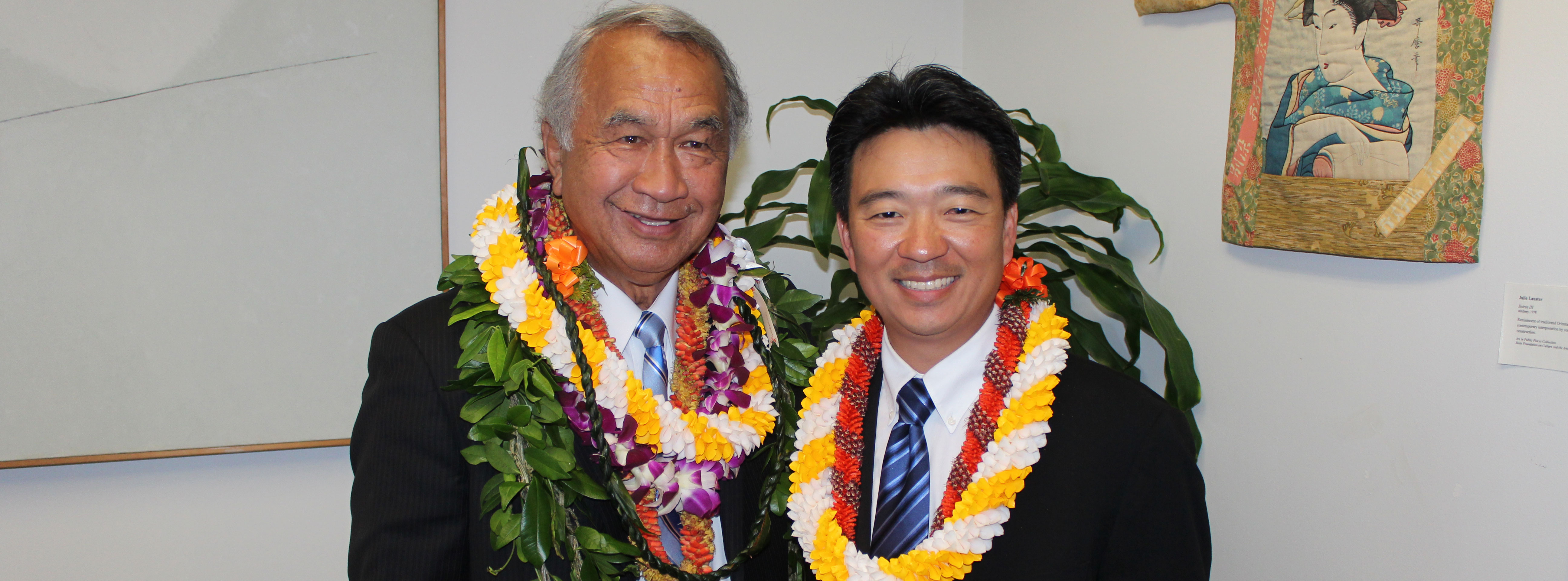 Lt. Governor and Sen. Gil Kahele