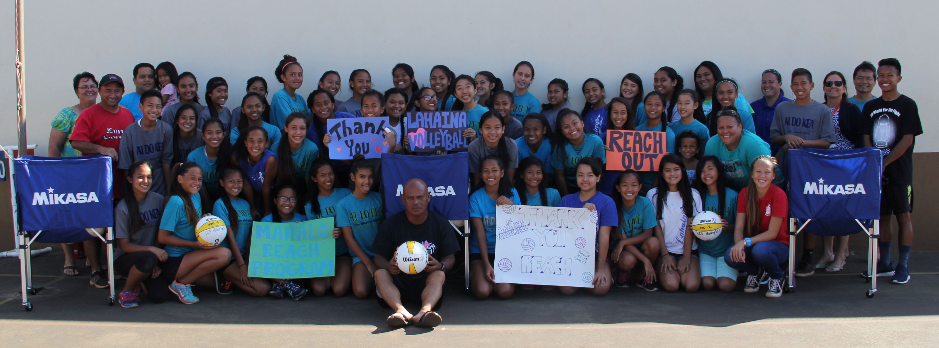 Lahaina Intermediate School Volleyball Team