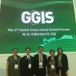 Picture of Hawaii Delegation at the Global Green Island Summit
