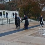 t. Gov. Chin places wreath at Tomb of Unknown Soldier.