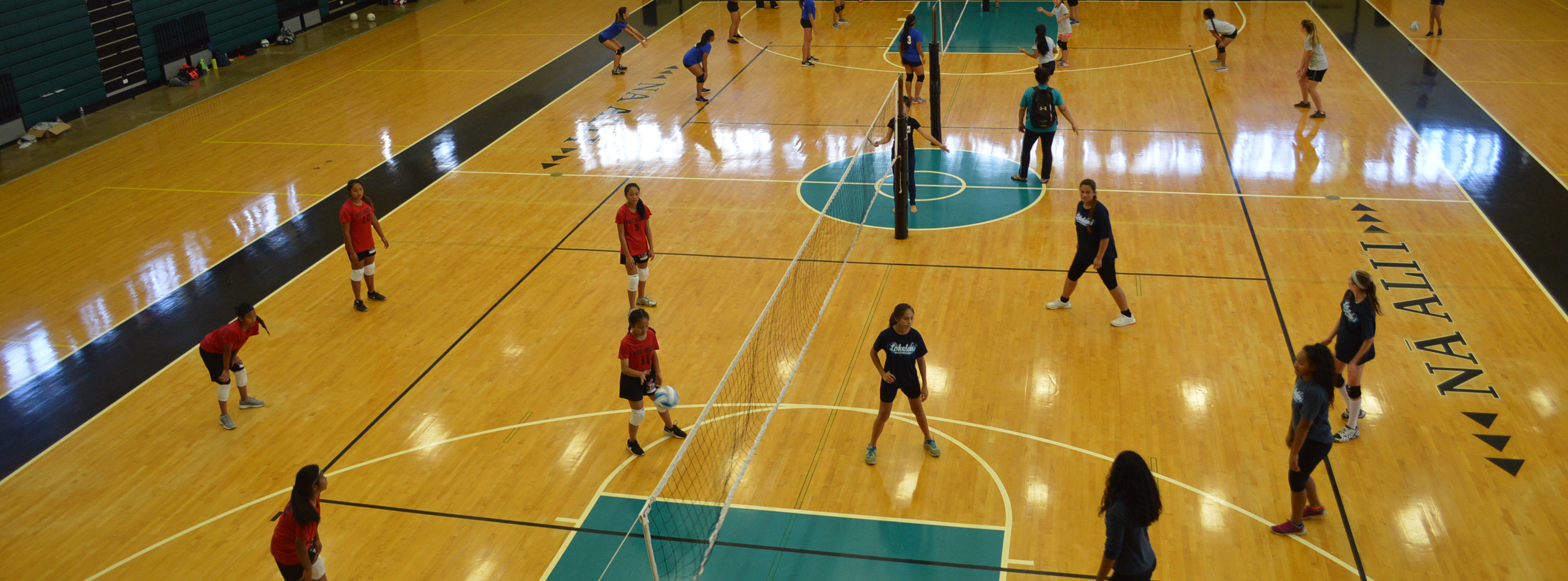 R.E.A.C.H. Volleyball game