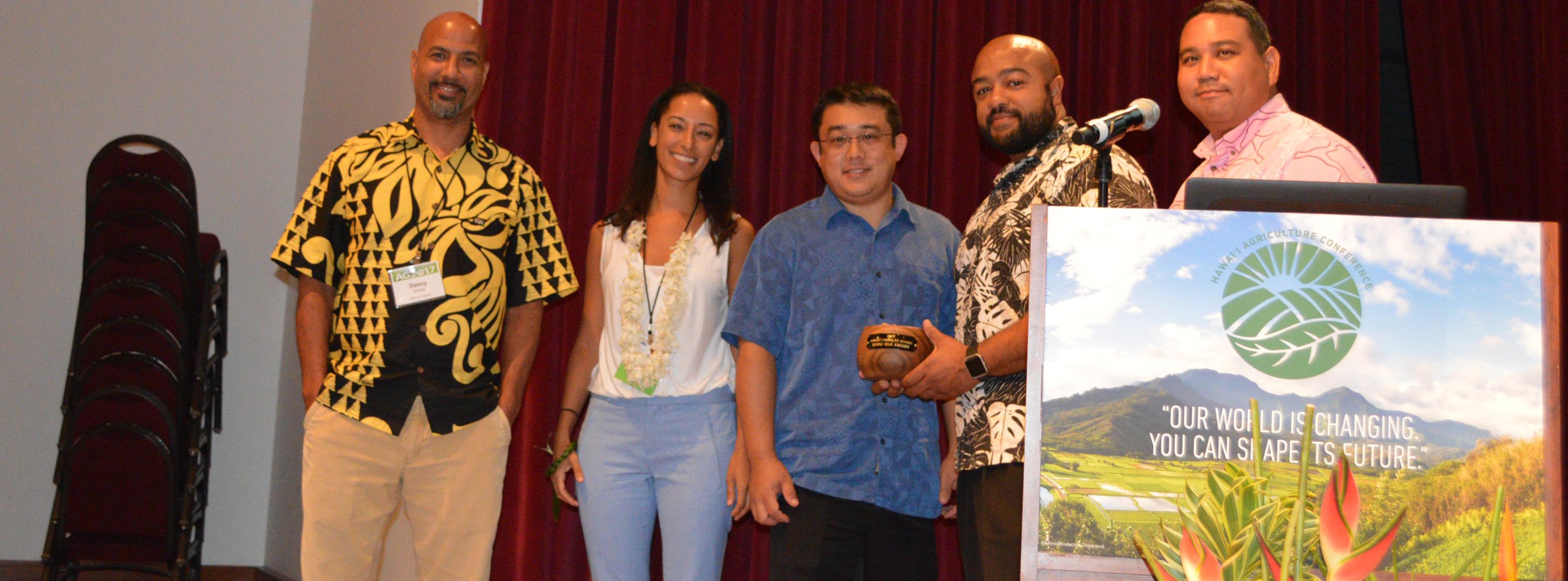 Farm to School Kanu Ola award