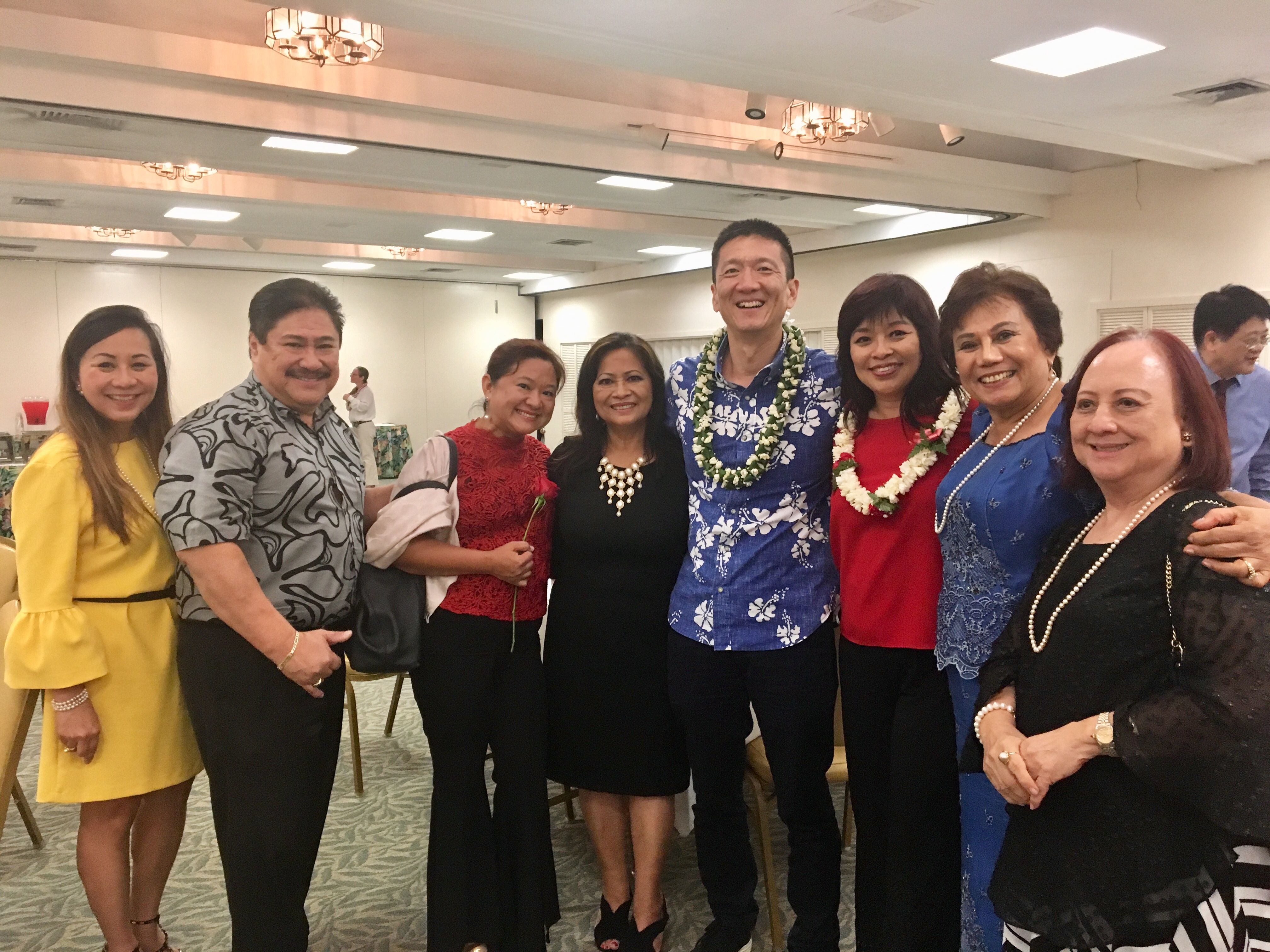 Lt. Governor Chin with members of the 2018 Trade Mission Delegation